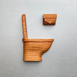 賃貸でもOK!取り付ければ扉がオシャレに変身!可愛い木製ルームマーク