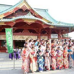 AKB48グループ成人式記念撮影会の様子(C)モデルプレス