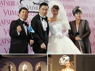 太田光夫妻、結婚25年目の挙式がステキ! 12本のバラで愛を誓う「ダーズンローズウェディング」
