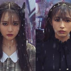 乃木坂46賀喜遥香&欅坂46渡辺梨加、新生「LARME」で美の競演