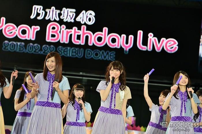 『乃木坂46 3rd YEAR BIRTHDAY LIVE』【モデルプレス】