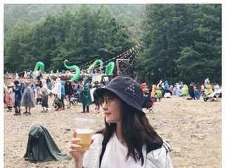 小嶋陽菜・ローラ・水原希子ら美女たちのフェスコーデ 今年のトレンドは?<FUJI ROCK FESTIVAL'18>