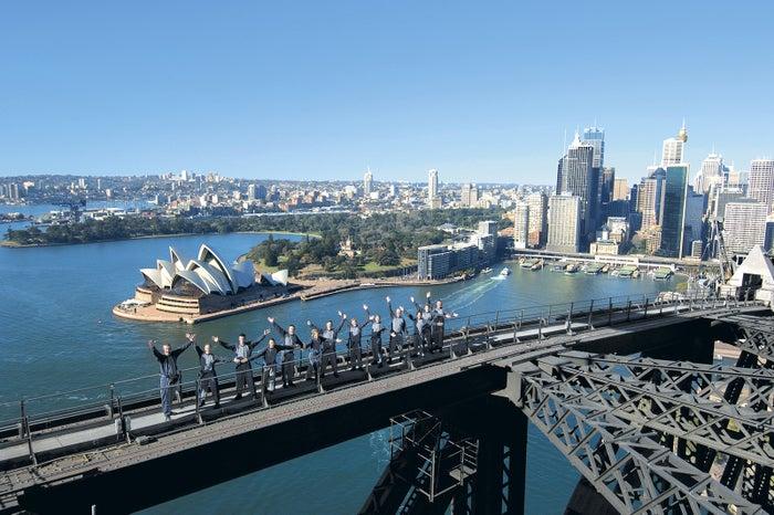 勇気をだしてチャレンジすれば、360度パノラマのご褒美が待っています/BridgeClimb Sydney