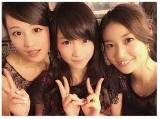 元AKB48・川栄李奈、たかみなの後押しで前田敦子&大島優子と3ショット写真!