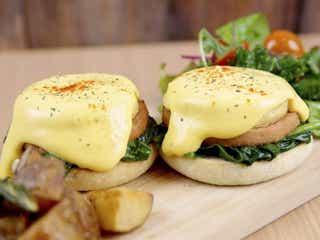 卵を使わないエッグベネディクト!?ダイエット中でもOKのヘルシーカフェ