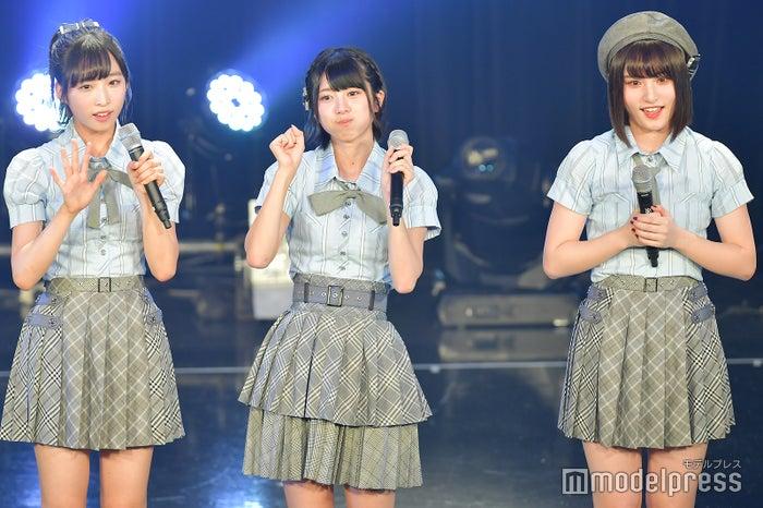 小栗有以、大西桃香、谷川聖/AKB48チーム8「TOKYO IDOL FESTIVAL 2018」 (C)モデルプレス