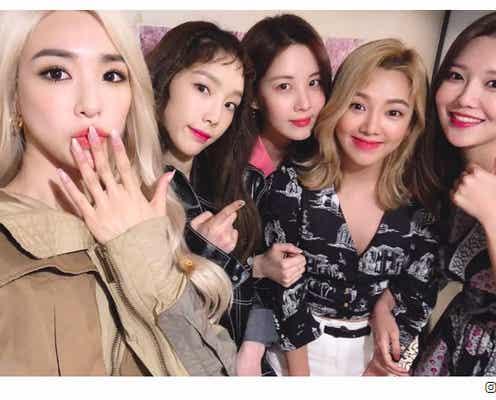 「永遠に少女時代」ソヒョン&スヨン&ヒョヨン&ティファニー&テヨンの友情ショットにファン感動