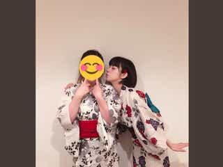 池田エライザ、浴衣のキス顔に反響 「一緒に夏祭り行きたい」の声