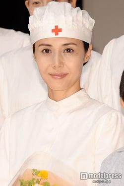 松嶋菜々子、2人の子育てを語る「厳しくしてるつもり」