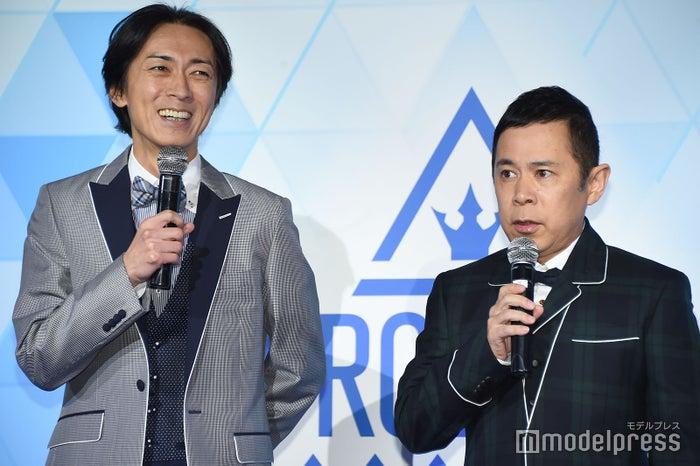 国民代表プロデューサー・メインMCのナインティナイン(矢部浩之、岡村隆史) (C)モデルプレス
