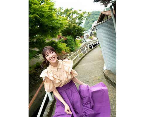 前島亜美がデビュー10周年を記念して写真集を発売「数年伸ばした髪の断髪式も」