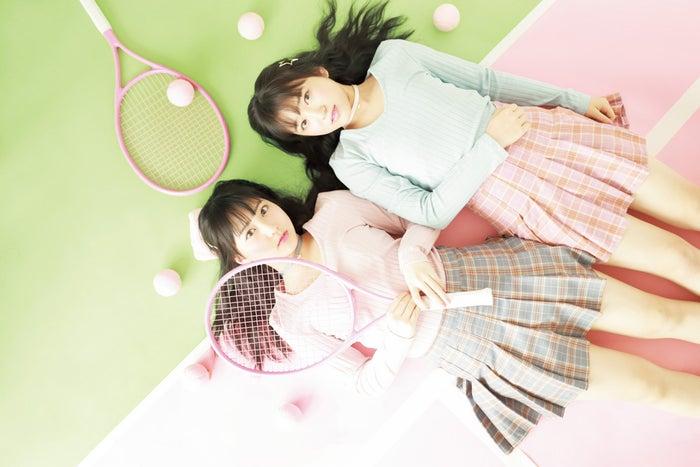 HKT48(左から)田中美久、矢吹奈子(画像提供:徳間書店)
