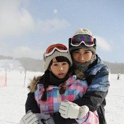 桐谷美玲、劇団EXILE町田啓太と雪山デート「カップルならではの密着ぶり」「結構ベタベタしてます」