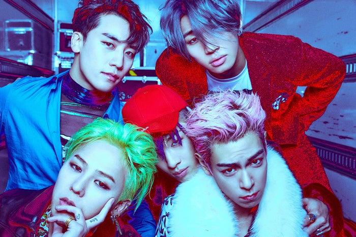 BIGBANG (画像提供:一般社団法人日本レコード協会)