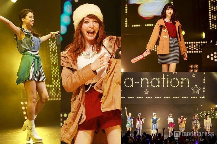 藤井リナ、八木アリサ、石田ニコルら「a-nation」シンガポールで大歓声【モデルプレス】
