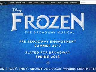 ディズニー「アナと雪の女王」ミュージカル化決定、2018年春ブロードウェイで上演