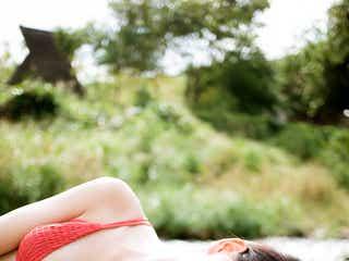 注目の女優・喜多乃愛、初水着撮影で美バスト披露 「ずっと憧れていた」念願叶う
