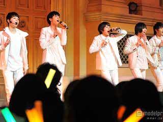 """超特急、DISH//に続く""""スタダ系男子""""M!LKに黄色い歓声 フレッシュなパフォーマンスで魅了"""