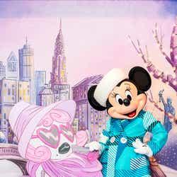 """「ミニーのスタイルスタジオ」でミニーマウスが披露する""""冬""""ならではのファッション※画像はイメージ(C)Disney"""