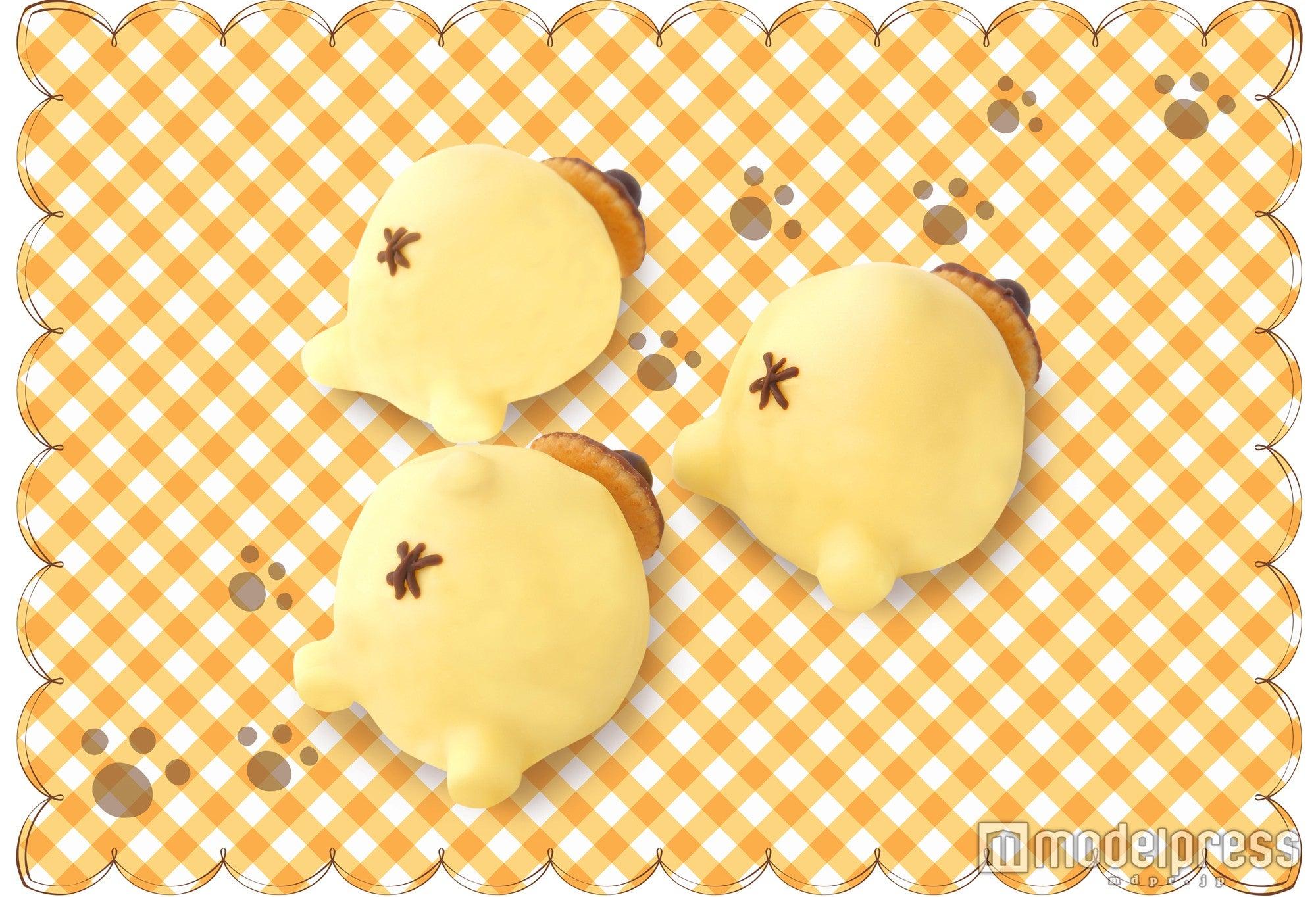 「プリンプリン!おしりケーキ(いちご味)」600円(C)