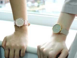 さりげなくオシャレ♡ニュアンスカラーが使いやすい上品な腕時計