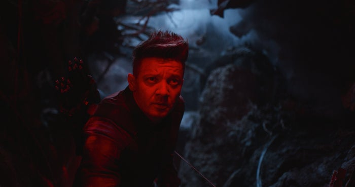 ホークアイ/映画『アベンジャーズ/エンドゲーム』より(C)Marvel Studios 2019