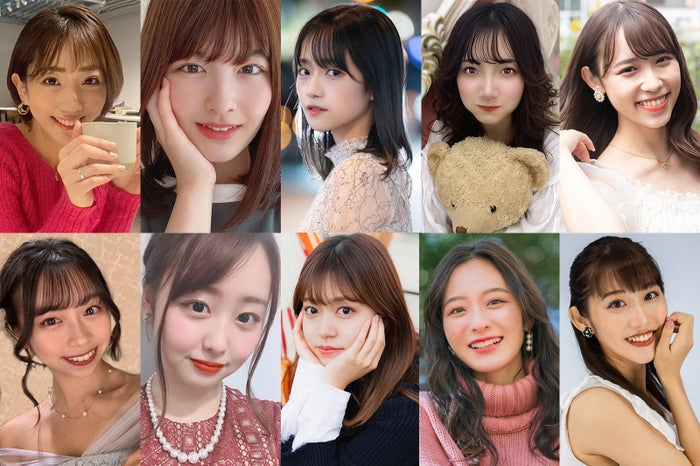 「MISS OF MISS CAMPUS QUEEN CONTEST 2021」ファイナリスト(提供写真)