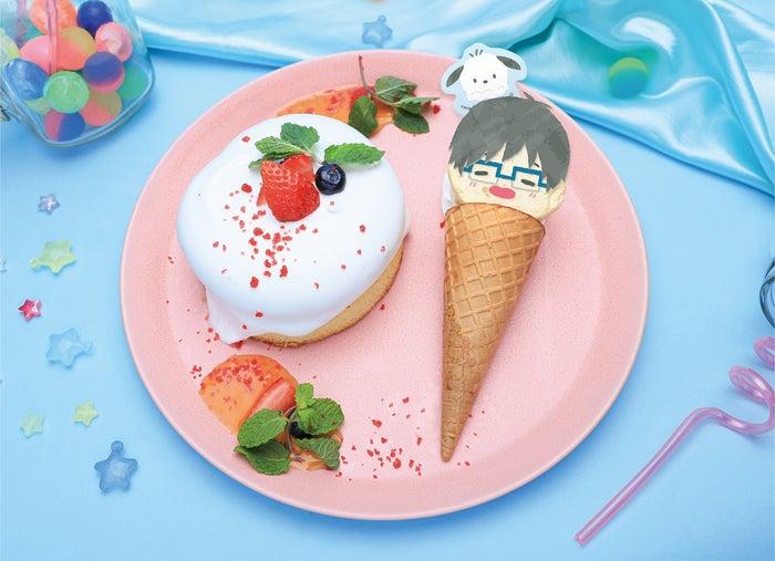 パンケーキ&アイスプレート 1,399円 (提供画像)