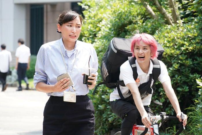杏・瀬戸利樹/「偽装不倫」第6話より(C)日本テレビ