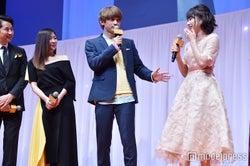 桜井日奈子がどう魅力的かを懸命に説明する吉沢亮 (C)モデルプレス