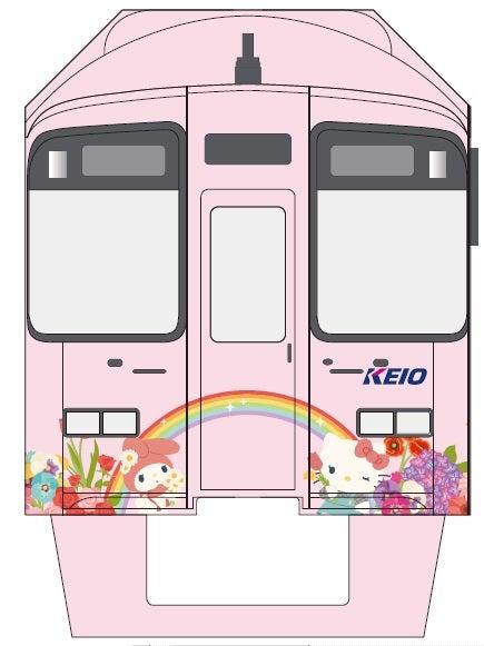 サンリオキャラのラッピング電車、京王電鉄で運行開始(C)2018 SANRIO CO., LTD.