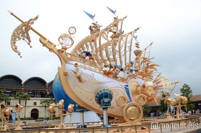 """「東京ディズニーシー15周年""""ザ・イヤー・オブ・ウィッシュ""""」デコレーション(C)モデルプレス"""