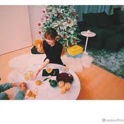 モデルプレス - 紗栄子が自宅で楽しむ大胆アレンジとは?「可愛い!」デザートにファン絶賛