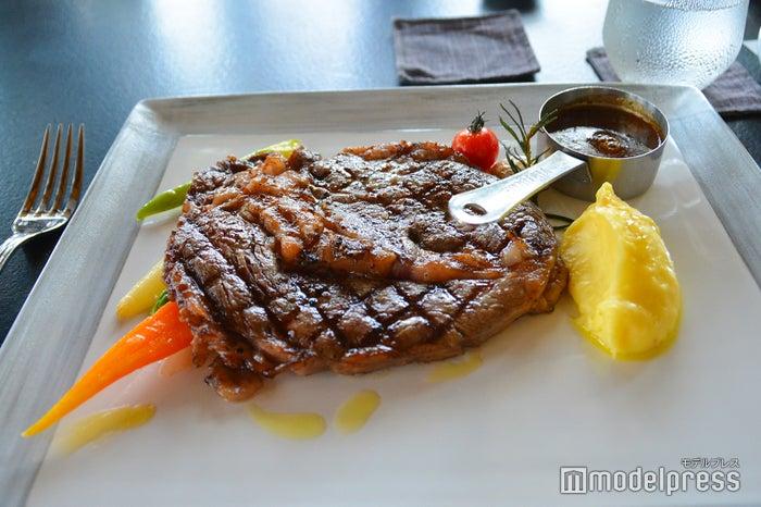 ビーチグリルの料理(C)モデルプレス