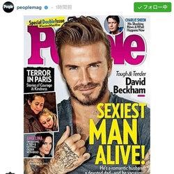 『People』誌が選ぶ「最もセクシーな男性」が発表