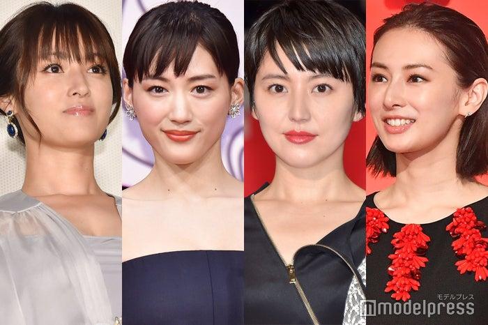 深田恭子、綾瀬はるか、長澤まさみ、北川景子 (C)モデルプレス
