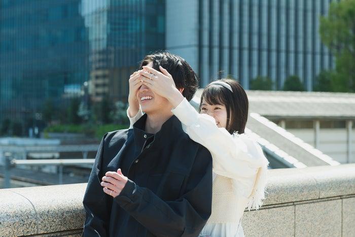 綱啓永、吉田伶香「恋とオオカミには騙されない」第12話より(C)AbemaTV, Inc.