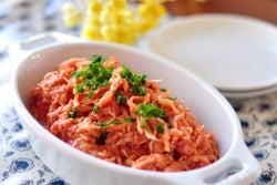 トマトジュースで戻すから栄養たっぷり! 「切り干し大根サラダ」