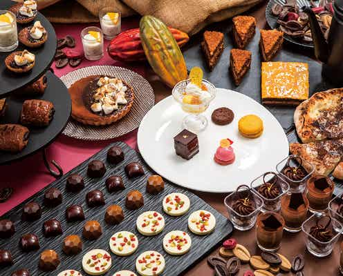 秋の食材×チョコのスイーツビュッフェ「チョコレートパーティ」宮崎で、ピエール・エルメの特別スイーツも