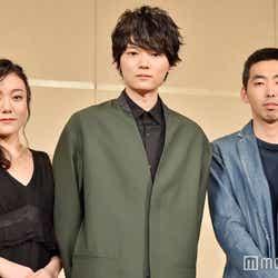 「イニシュマン島のビリー」会見に出席した(左から)鈴木杏、古川雄輝、柄本時生(C)モデルプレス