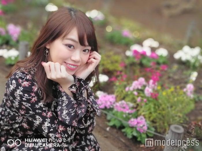 メインカメラも「ポートレートモード」で美人度までアップ/「HUAWEI nova 2」で撮影