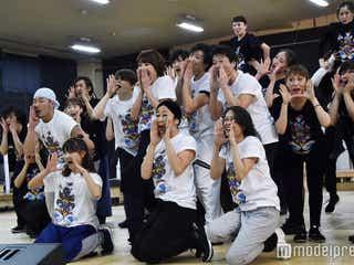 柚希礼音、西川貴教らが歌い踊る「地球ゴージャス」公開稽古 新田真剣佑はバク転を披露<ZEROTOPIA>