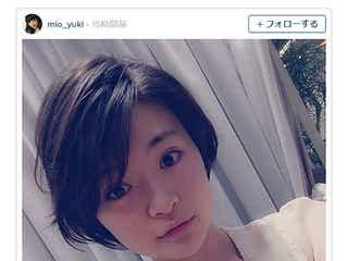 ドラマ「デスノート」ニア役・優希美青、髪バッサリ気合いの役作り「似合うかな」