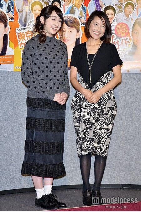 (左から)早見あかり、羽田美智子