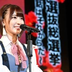 "HKT48宮脇咲良、自己最高位 来年を""予言""<第9回AKB48選抜総選挙>"