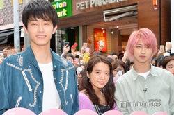(左から)杉野遥亮、上白石萌音、横浜流星(C)モデルプレス
