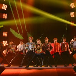 NCT 127「ガルアワ」初降臨で観客圧倒 熱いパフォーマンスで会場揺らす<GirlsAward 2018 A/W>