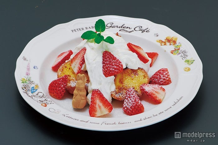 「モペットの苺フレンチトースト」1,380円