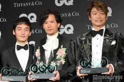 (左から)草なぎ剛、稲垣吾郎、香取慎吾(C)モデルプレス