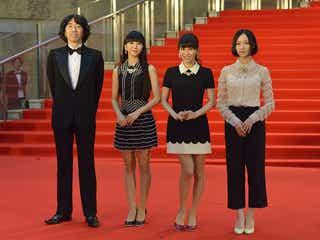 Perfume、ついに念願達成!「東京国際映画祭」で大歓声に包まれ、笑顔で初のレッドカーペットを満喫
